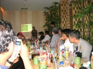 Istiyani Susriyati, Kepala Honda Customer Care (HC3) PT. AHM mempresentasikan program sirkuit Ramadhan Honda