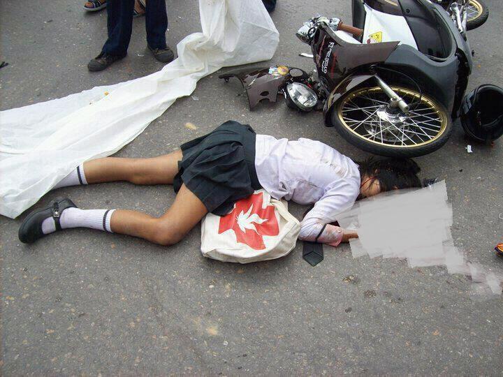 Kecelakaan akibat ban cacing