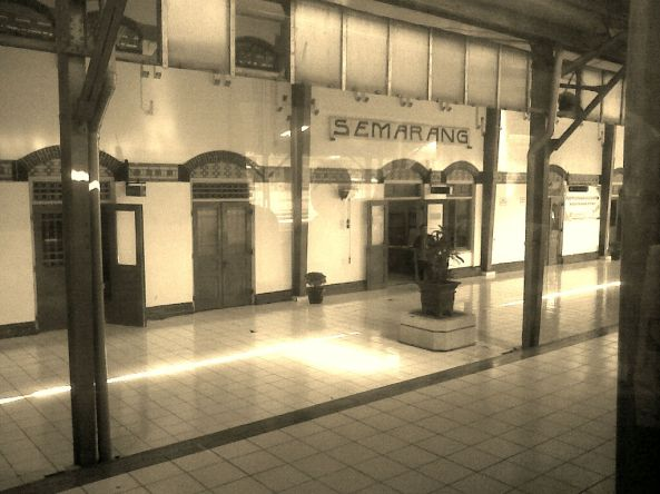 Tiba di Semarang