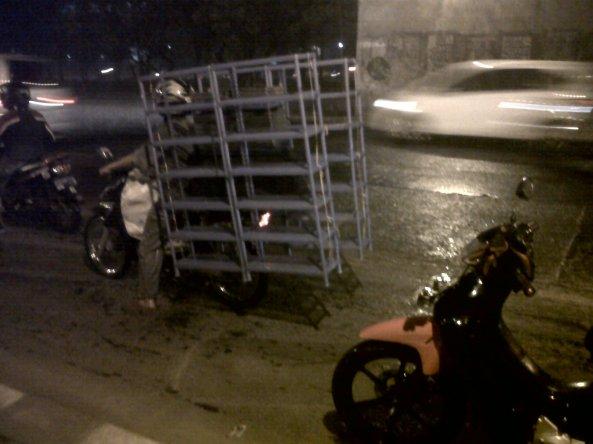Side Rack Motorcycle