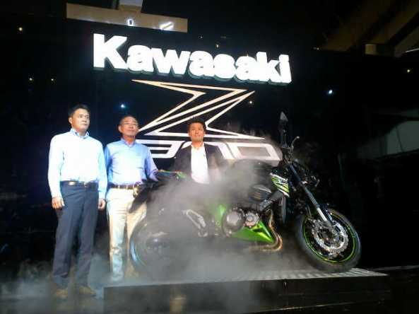 Peluncuran Kawasaki Z800. Foto: Kru Bodats