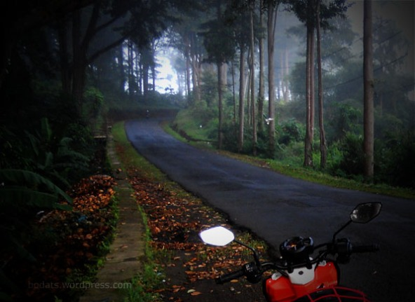 Same Spot, Different Bike :D