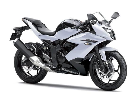 Ninja250R Mono White