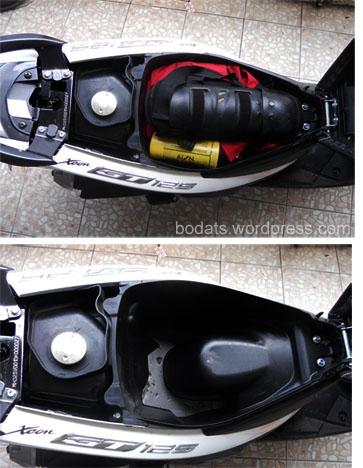 Yamaha Xeon GT125_bagasi
