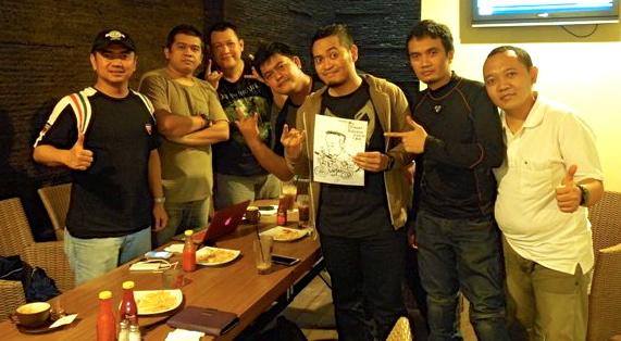 "Haryadhi ""Gee"" dengan Oto Blogger Indonesia"